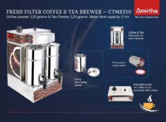 Fresh Filter coffee and Tea Brewer- 1 Ltrs